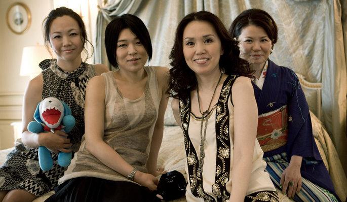 4 japonaises giroudon